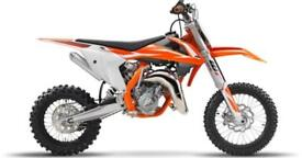 KTM 65 SX 2018 VAT Free deal - £100 extra discount - Limited numbers.