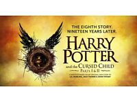 2x Harry Potter and the Cursed Child Tickets. Parts I&II 4th September 2016