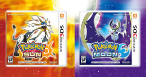 Pokemon Moon/Sun or Ultra Moon/Ultra Sun for 3DS