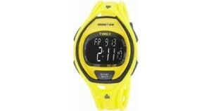 Timex Yellow Resin Digital Watch