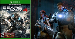 Gears of War 4 (with codes for all 4 other GOW games)