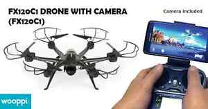 Get a discount on drone with 6 propellers and HD camera