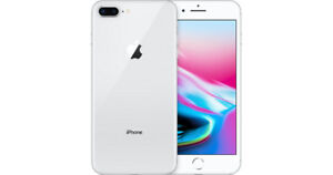 Apple iPhone 8 Plus, 64GB, Silver, Brand New Open Box