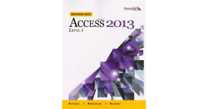 MS Access 2013 Level 1 Benchmark Series