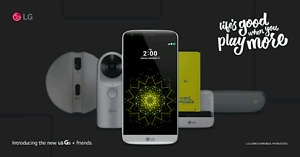 Selling a like new LG G5! WITH WARRANTY!