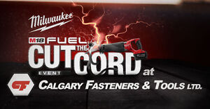 Milwaukee Tools' CUT the CORD Event @ Calfast