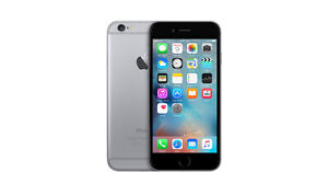 NEW IPHONE 6 16G BLACK WITH APPLE CARE
