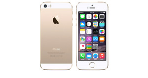 iPhone 5S 16GB Gold Telus/Koodo works perfectly in excellent con