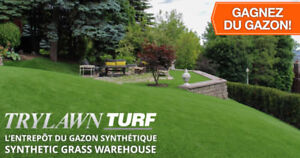 ARTIFICIAL SYNTHETIC TURF GRASS AND POURED RUBBER