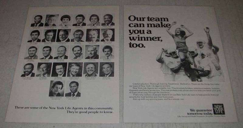 1977 New York Life Insurance Ad - Make You A Winner