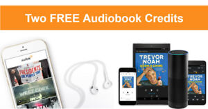 2 free audiobooks with audible free trial! (No credit card)