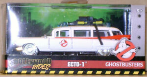 Ghostbusters ECTO-1; 1959 Cadillac Ambulance,  1/43 diecast, new