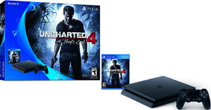 Sony PS4 500 Gb with 4 games