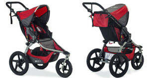 BOB® Revolution®Jogging  Single Stroller Soft ride
