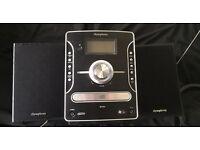 iSymphony mini hi-fi unit in Black
