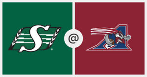 Montreal & Durant vs Roughriders Cheapest Tickets on Kijij !!!!