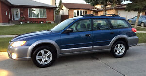 Saftied 2009 Subaru Outback Symmetrical AWD Wagon