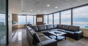 Beautiful high-end offices for rent on 33rd Floor, Bentall 4