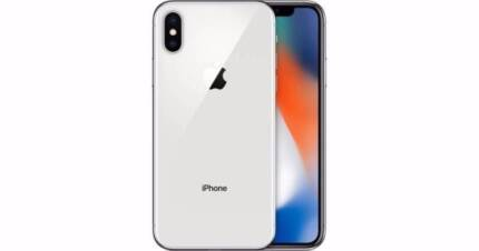 Brand New iphone X 64G Silver