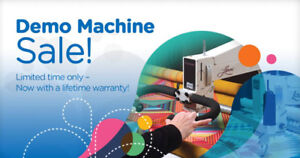 APQS Demo Sale on Long Arm Quilting Systems