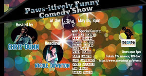 PAWSitively Funny Comedy Show