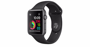 Apple Watch Series 2 - space grey, 42mm w Apple Care