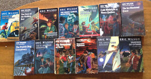 13 Eric Wilson Novels - Mysteries for 11-14 Readers (Canadian Au