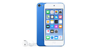 Apply Ipod Touch BLUE   32gb Great Shape