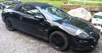 2003 Mitsubishi Eclipse spyder v6 GT Coupé (2 portes)
