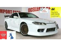 Nissan S15 TYPE R SILVIA 200sx WideBody show car Must bee seen!! Pearl White