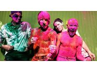 2x RED HOT CHILLI PEPPERS TICKETS 8th Dec Glasgow SSE