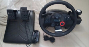 Driving Force GT Feedback Racing Wheel & Pedals PC, PS 2,3...