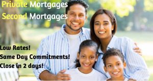 Private Mortgage & 2nd / Second Mortgages to 90% of Home Value!