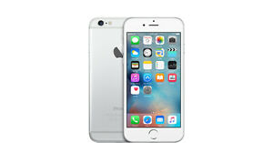 IPHONE 6 16GIG  BLANC ROGERS/CHATR COMME NEUF 260$$$