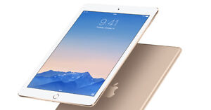 16GB IPad Air 2 (gold color) cell enabled on bell network