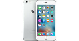 Apple iPhone 6, 16GB, Silver, Bell/Virgin