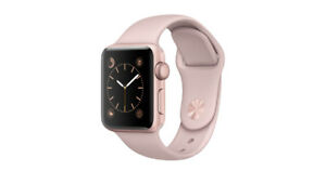APPLE WATCH SERIES 3 CELLULAR 38MM GOLD ALUM PINK BAND  $399