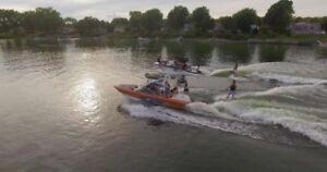 bateau mastercraft x2 2005 wake surf