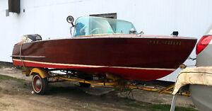 Mahogany Boat made by Gren-ell