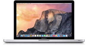 Spécial Macbook Pro 17'' intel core  i7/8g/500g 1099$