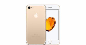 Sealed in the box Gold iPhone 7 32 gig with AppleCare warranty