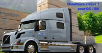 Chauffeurs Classe 1 Flatbed QC-ON (DELSON, St-Edouard)
