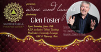 Summerhill Winery presents Wine and Laughs with Glen Foster