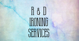 R & D ironing services