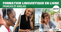 Free English or French online language course!!
