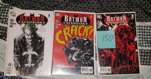Batman cacophony comic books