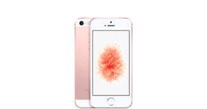 Apple iPhone SE 64gb Rose Gold/Grey Unlocked and mint condition