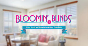 Bloomin' Blinds-Blind, Shade & Shutter Sales *Discount Available