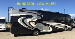 '14 *low miles*CROSS COUNTRY 385DS BUNKS DIESEL PUSHER 340HP