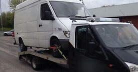 SCRAP VANS WANTED - DEAD OR ALIVE, TOP PRICES PAID